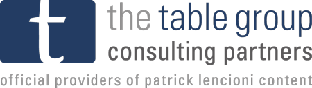 Patrick Lencioni The Table Group Consulting Partners