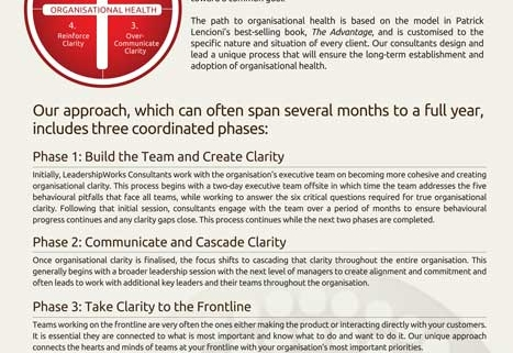The-Path-To-Organisational-Health