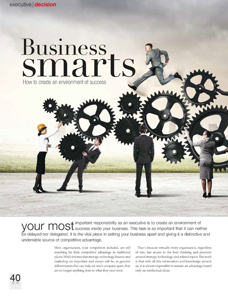 Skyways Article - Environment of Success