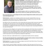 Building High Performance Business Teams - Patrick Lencioni Interview