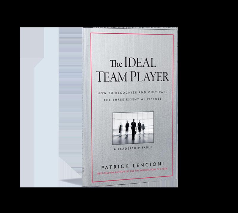 The Ideal Team Player Book Patric Lencioni